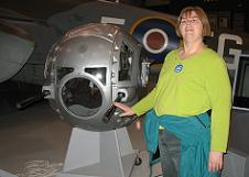 EAA Museum Ball Turrent Kathy